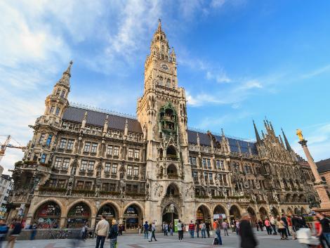 ミュンヘン:新市庁舎