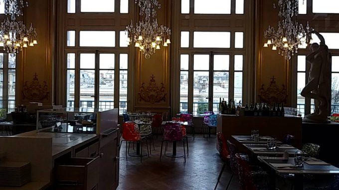 オルセー美術館のレストラン