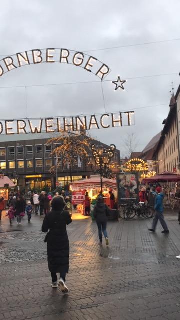 ニュルンベルクのナイトマーケット