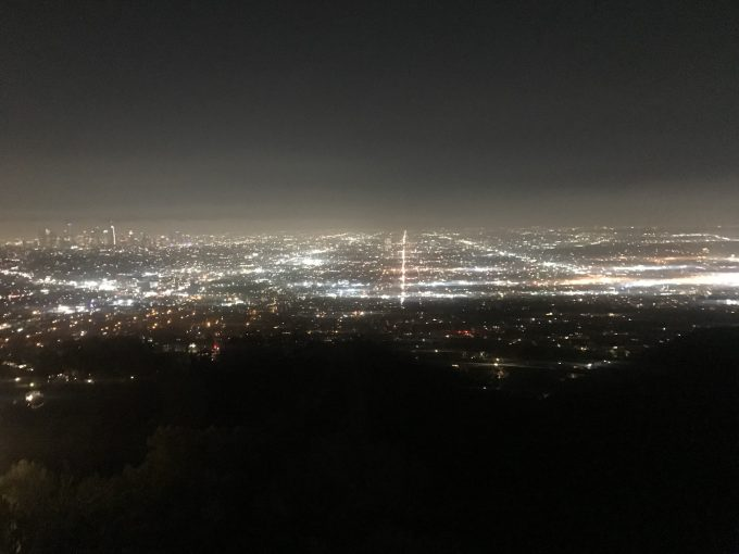 映画「ラ・ラ・ランド」の撮影場所、グリフィス天文台からの夜景に感動!