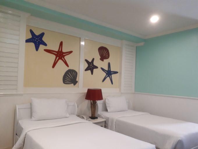 バウマンブリホテルの部屋