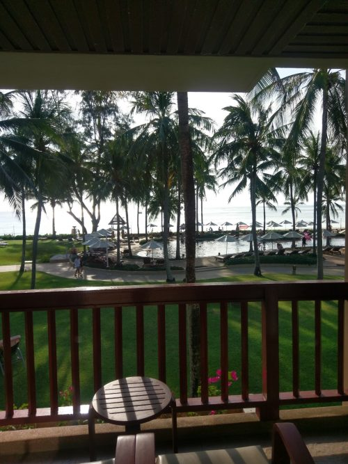 カタタニプーケットビーチリゾート-部屋からの眺め