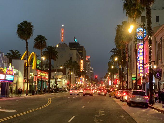 ハリウッドウォークオブフェーム