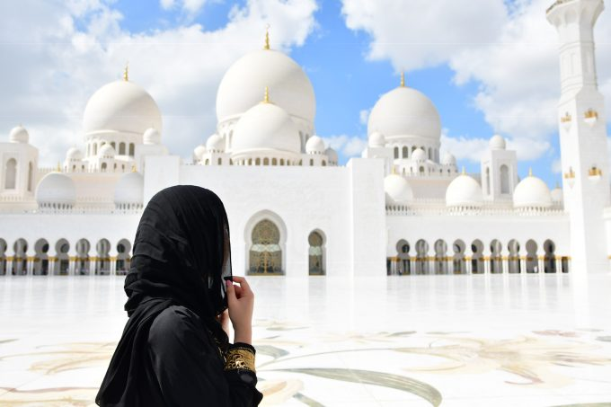 モスクにて