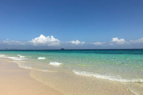 プーケット島ビーチの景色