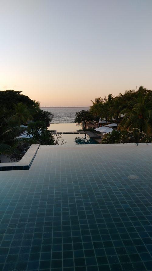 セブ島の夕焼け