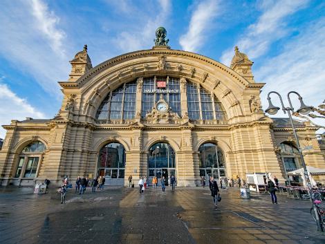 フランクフルト:中央駅