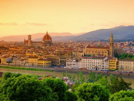 フィレンツェ:歴史地区