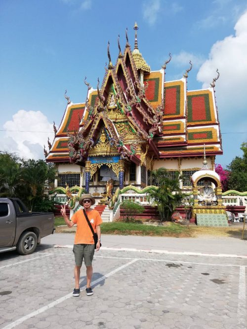 煌びやかなお寺