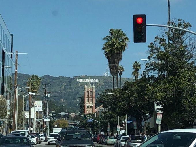 ハリウッドにも行きました!