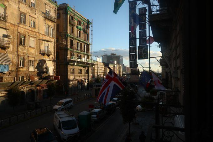 ナポリで泊まったホテル