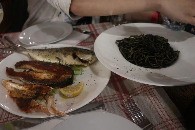 ベネチアで食べた海鮮料理