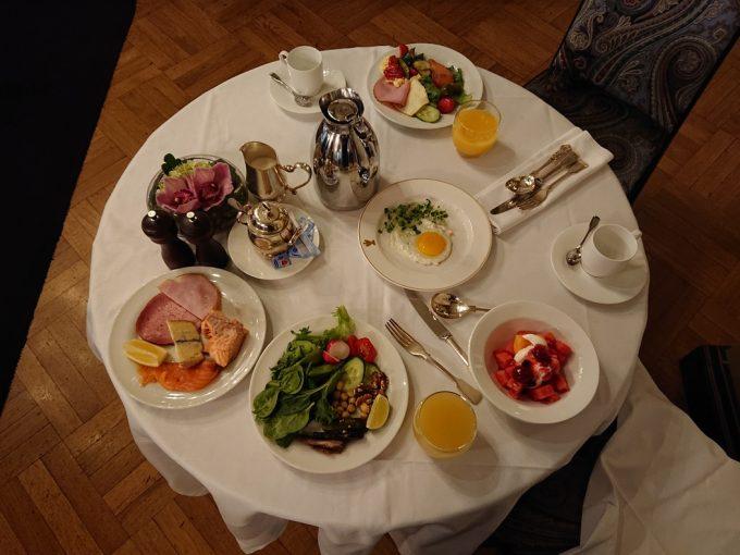 カンプホテル朝食風景
