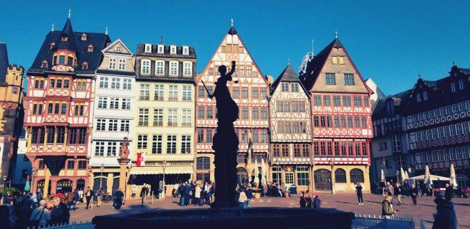 フランクフルトの街並み