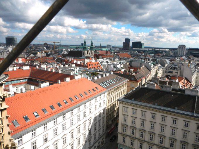 「シュテファン大聖堂」からの眺望