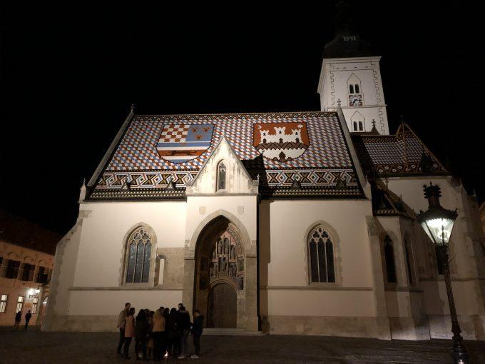 聖マルコ教会のライトアップ