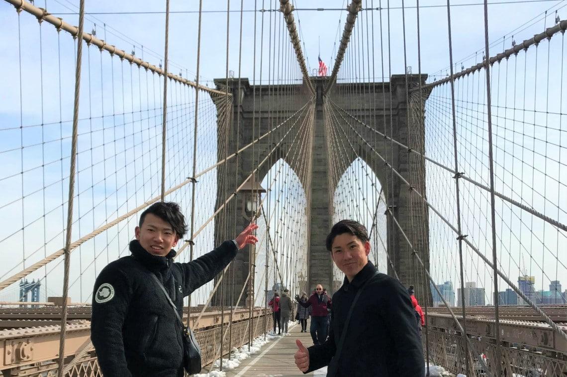憧れの街ニューヨークへ