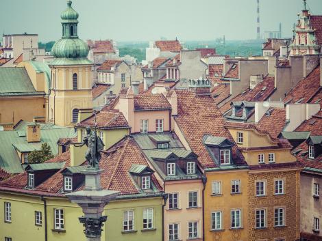 ワルシャワ:旧市街