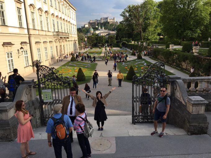 ザルツブルグのミラベル宮殿