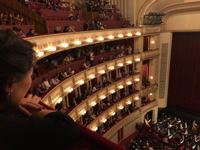 内装がとっても素敵な「ウィーン国立歌劇場」