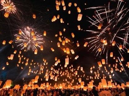 コムローイ祭りイメージ