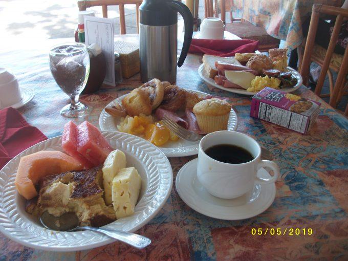 カアナパリビーチホテルの朝食