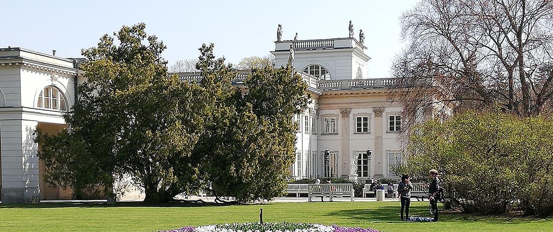 ワルシャワ ヴィラヌフ宮殿