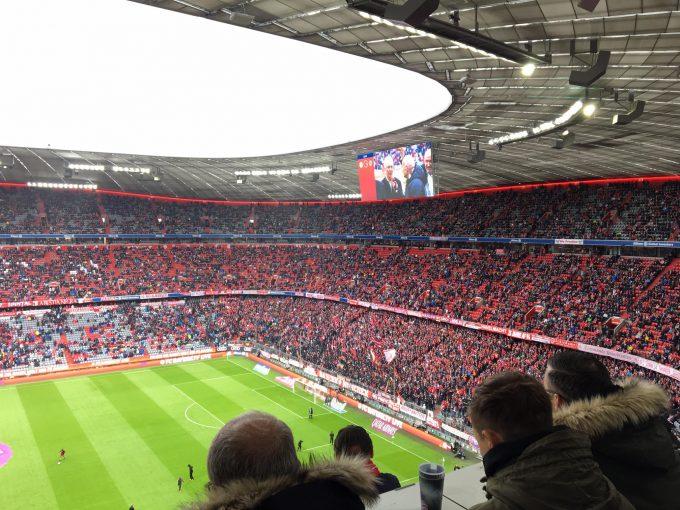 ドイツにサッカー観戦へ♪