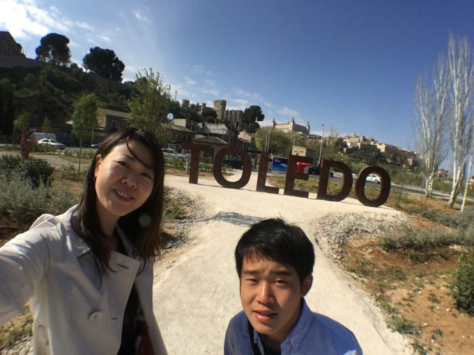 トレド観光へ
