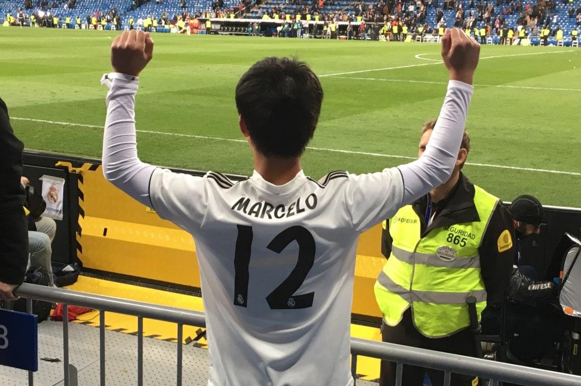 レアル・マドリードの生試合で大興奮
