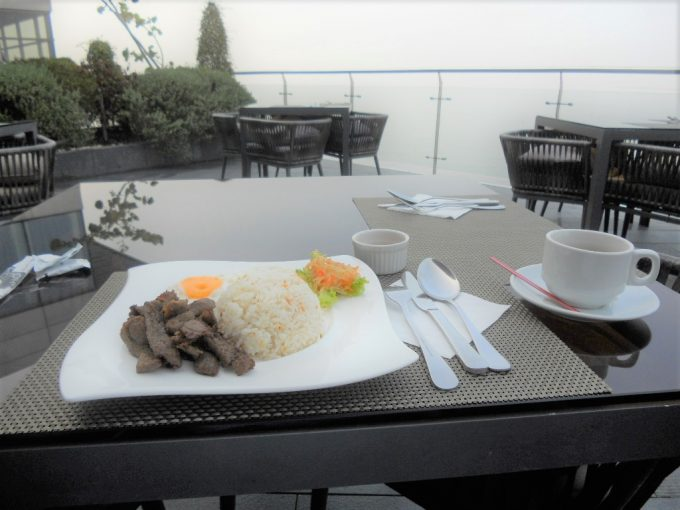 3day_Tapa Silog@makan makan in Hotel H2O