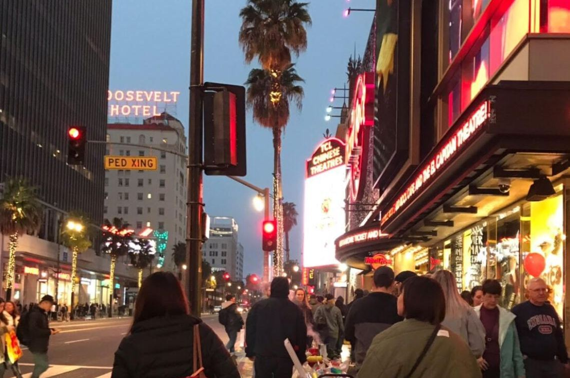 ハリウッド夕方散策
