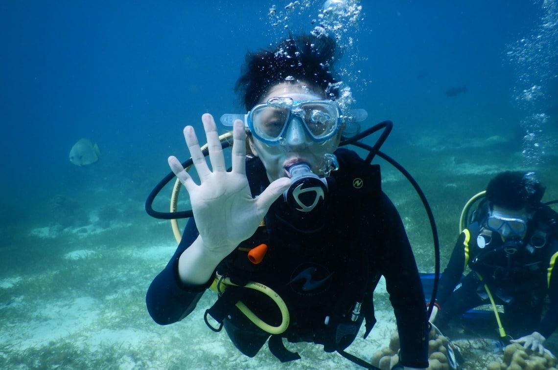 セブ体験ダイビング