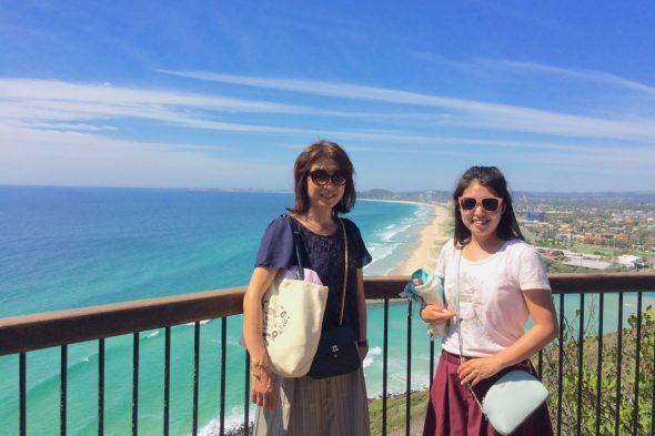 母と大好きなオーストラリアへ