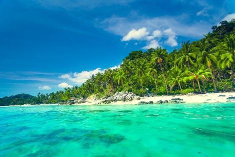 タイのサムイ島のビーチ