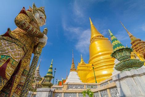 バンコクの王宮「ワットプラケオ」