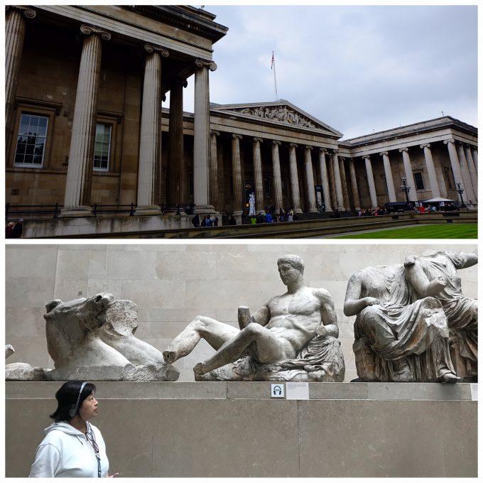 ロンドンのシンボル・大英博物館