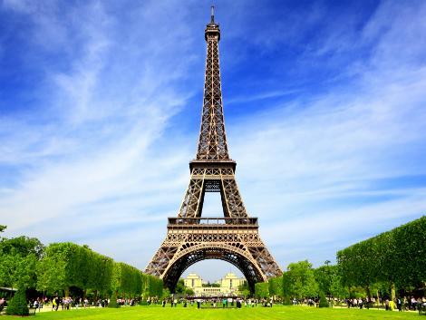 パリ:エッフェル塔