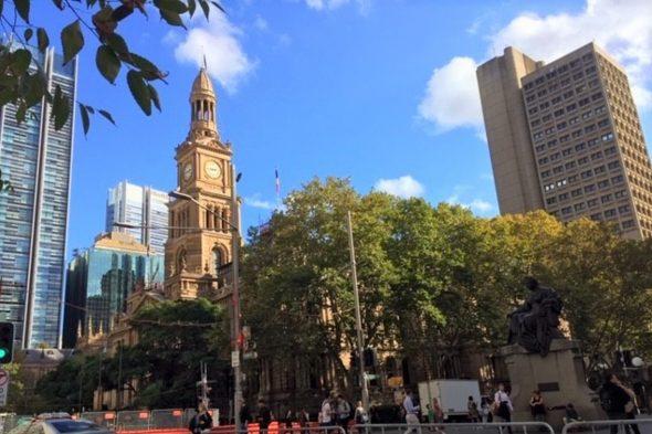 シドニー市街地散策