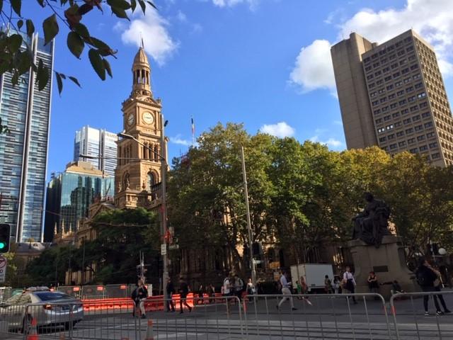 シドニー市街地の散策へ