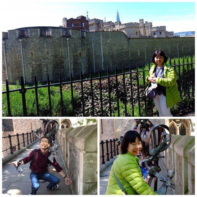 世界遺産のロンドン塔