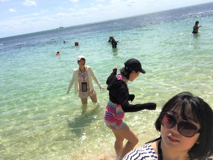 珊瑚礁の楽園グリーン島