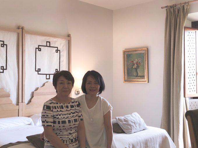 パラドール寝室