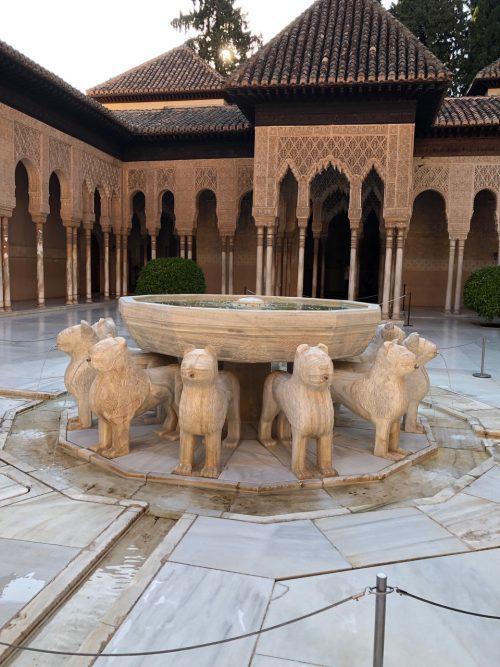 ライオンの中庭