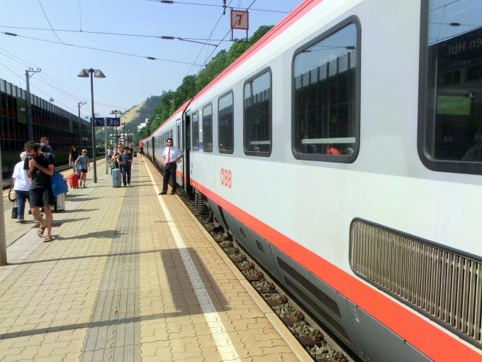 快適なヨーロッパの鉄道旅行