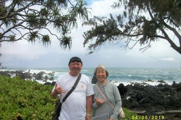 マウイ島にて