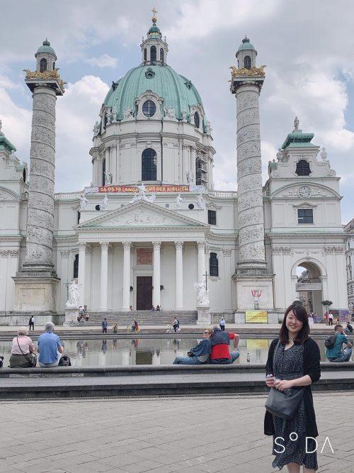 ウィーンの宮殿♪