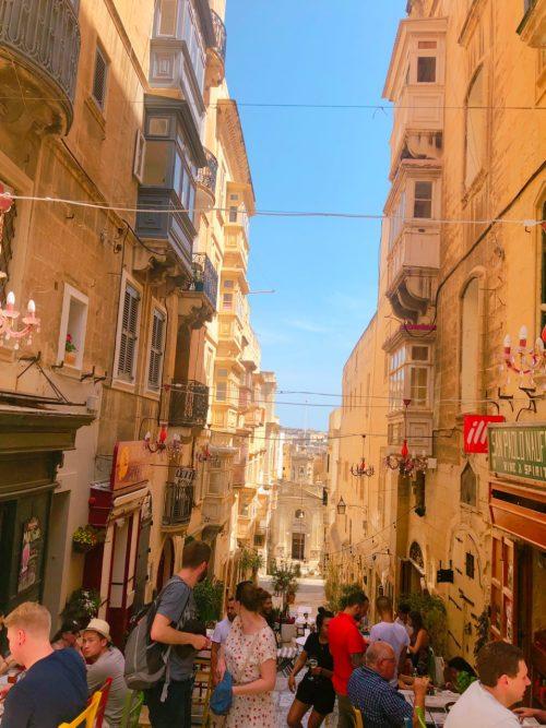 マルタ島・ヴァレッタの街