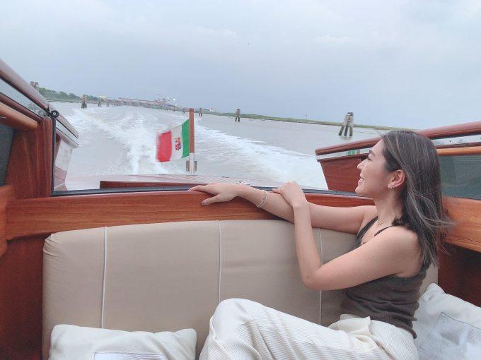 豪華な水上タクシー!