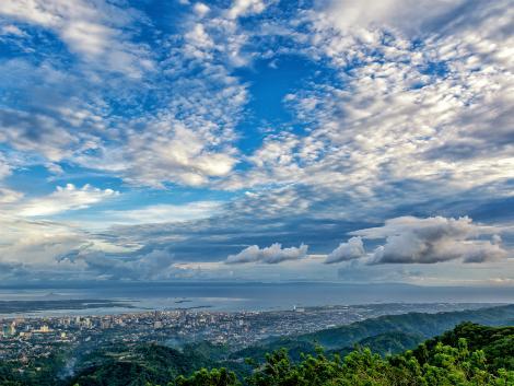 セブ島 展望台 topsからの眺め